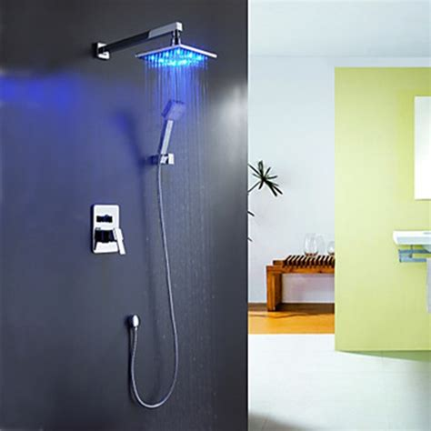 Changing Color Shower by Faucets Images Color Changing Led Shower Faucet With 8