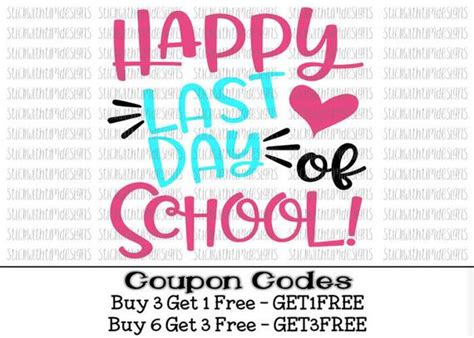Happy Day Of School Card
