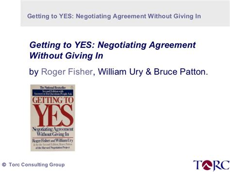 getting to yes negotiating torc thumbnail 4 getting to yes negotiating agreement