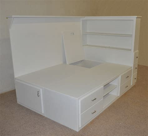 bed w storage orlando platform bed designed and built by tanglewood design