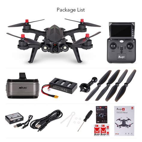 Mjx Bugs 6 B6 Professional Racing With Mjx C5830 5 8g 720p mjx bugs 6 b6 g3 goggles 720p drone 5 8g fpv drone 250mm high speed brushless racing