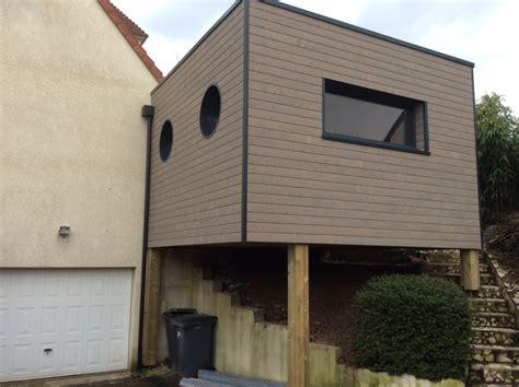 Extension Maison Toit Plat 633 by Agrandissement Maison Sur Pilotis Qv39 Jornalagora