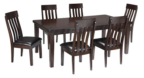 7 piece dining room table and chair set ebay 7 piece rectangular dining room table w oak veneers and