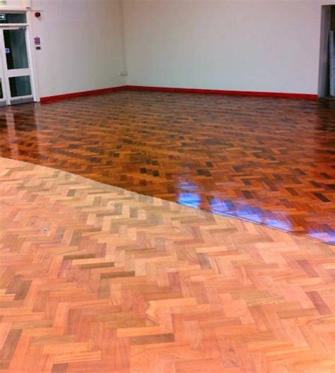 refinishing parquet floors ways to do this time