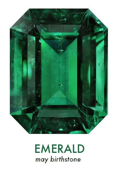 Emerald Gemstone Of May by Happy Birthday May Violette Boutique