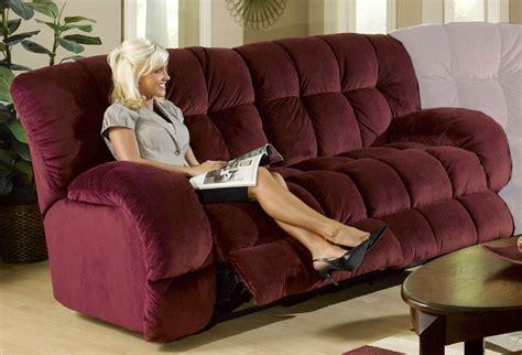 cat napper sofa catnapper softie dual reclining sofa bordeaux 3741