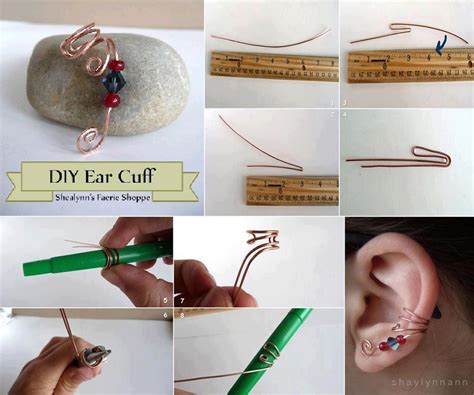 Handmade Projects - diy ear cuff fabdiy