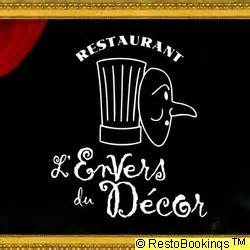 restaurant l envers du decor restaurant gourmet