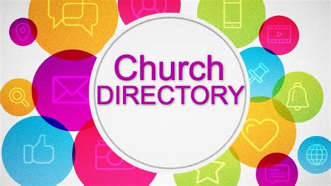 remember church directories
