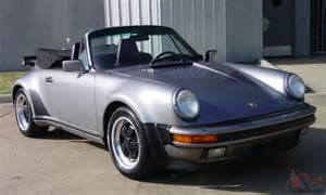 1989 Porsche 911 Turbo For Sale 1989 Porsche 911 Turbo Cabriolet