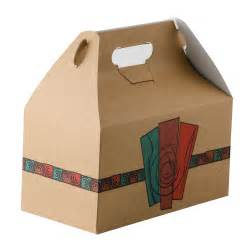 Grocery Barn 9 1 2 Quot X 5 Quot X 5 Quot Barn Take Out Lunch Box Chicken Box