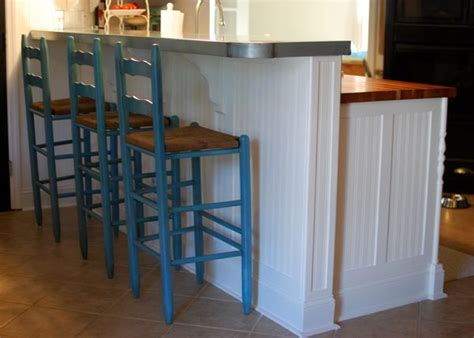 add beadboard to peninsula kitchen cabinet enhancement check out the beadboard with added pieces of trim to make