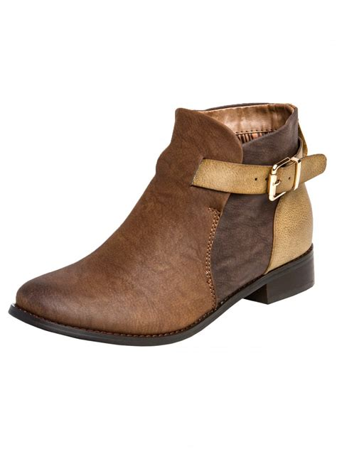 womens vintage ankle boots sbo057