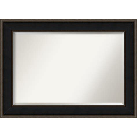 mezzanine black large wall mirror amanti wall
