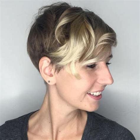 pixie cut with curl perm 40 bold and gorgeous asymmetrical pixie cuts