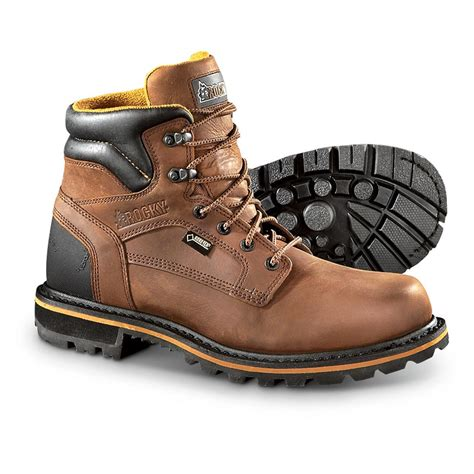 rocky shoes rocky governor tex waterproof breathable work boots