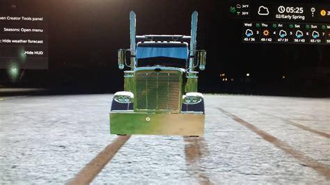 Topi Trucker 10 1 Reove Store peterbilt 388 white camo v1 0 for fs 17 farming simulator 2017 fs ls mod