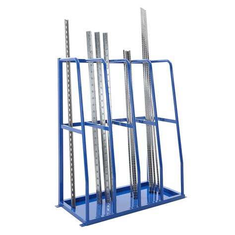 Vertical Pipe Rack by Vertical Bar Storage Rack 4 Bay Vertical Storage Racks