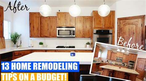home remodeling tips ideas on a budget with before