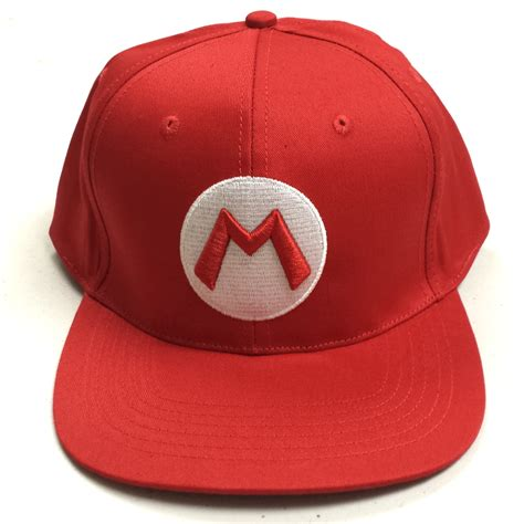 How To Make A Mario Hat Out Of Paper - mario baseball cap quality hat mario brothers