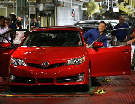 toyota to export kentucky made camry to south korea
