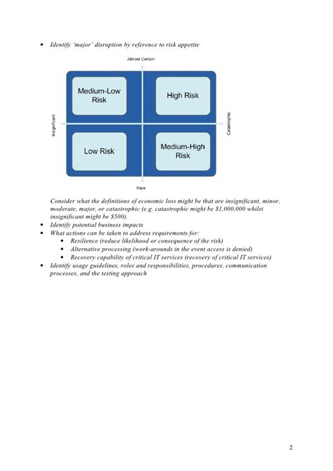 business continuity plan template for banks business continuity plan template for banks