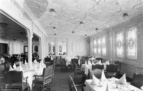Titanic Third Class Dining Room by Titanic Replica Photos Show How It Will Compare To The
