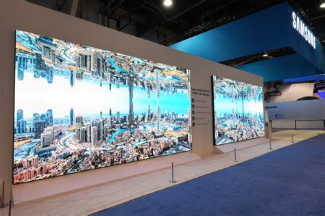 samsung launches  wall professional  commercial