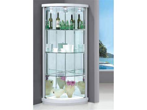 white corner display cabinet white glass cabinet peenmedia com