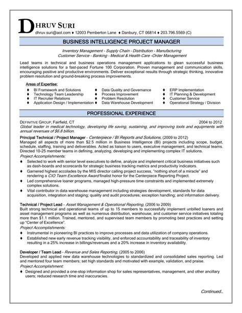 project manager resume sle 2016 ready for you resume sles 2017