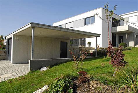 carport ulm einfamilienhaus in ulm schlichter kubus mit technischer
