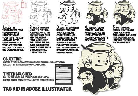 tutorial adobe illustrator pdf adobe illustrator how to make a cartoon tutorial jason