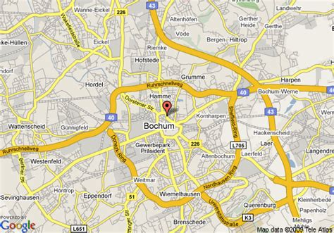map of bochum germany map of derag acora hotel bochum bochum