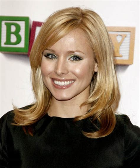 kristen bell medium straight cut edgy chic kristen bell kristen bell hairstyles in 2018
