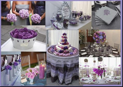 awesome purple and silver wedding decorations icets info