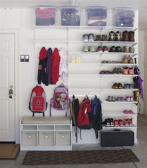 Garage Storage Ideas For Shoes Best 25 Garage Shoe Storage Ideas On
