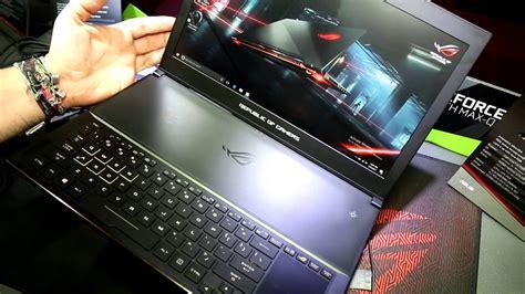 Laptop Asus Rog Lengkap asus rog zephyrus gx501 laptop gaming tipis bertenaga gtx 1080 segiempat