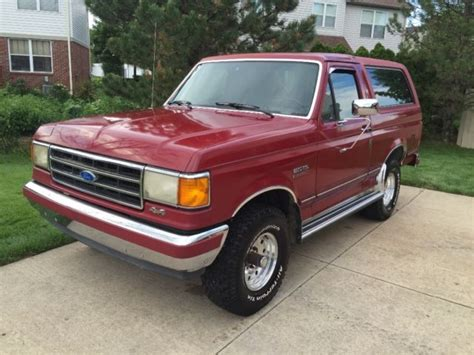 how cars run 1991 ford bronco seat position control 1991 ford bronco silver anniversary mint rust free for sale photos technical specifications