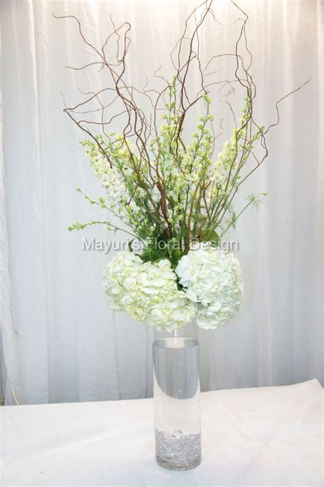 rustic centerpiece great option for clear