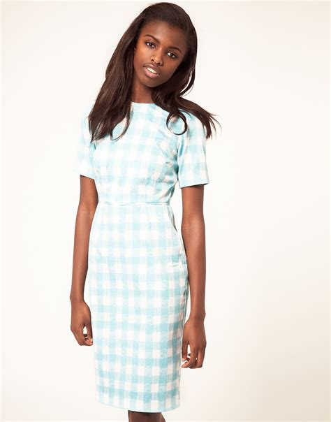 Mischa Gingham by Lost In Couture Runway2yourway Jil Sander 2012