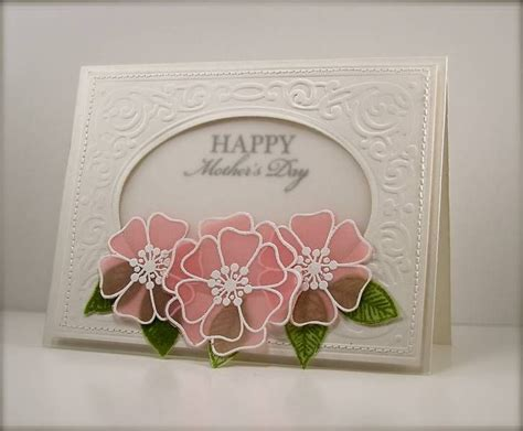 using vellum in card 17 best images about cards vellum flowers on