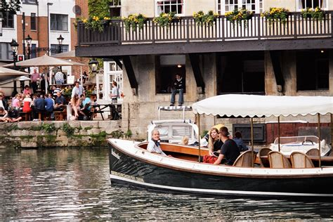 river thames boat and meal oxford river cruise and three course meal with wine for