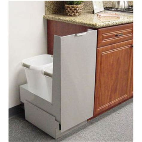 trash cans trash or recycling cabinet by imperial