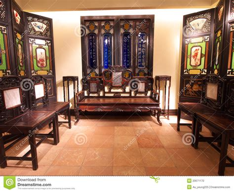 chinese living room old chinese living room editorial image image of room