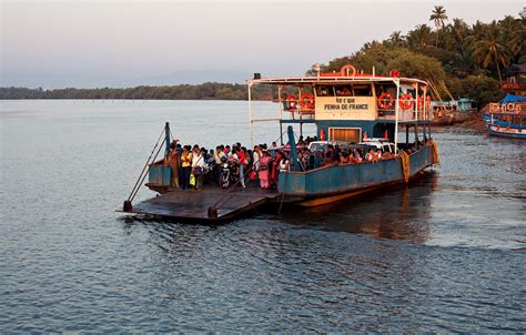 ferry boat goa ferry barge sunset 187 photo blog by rajan parrikar