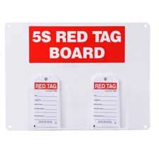 Brady Part 122054 5s Red Tag Board With 5 75 Quot H X 3 Quot W Tags 5s Tag Template