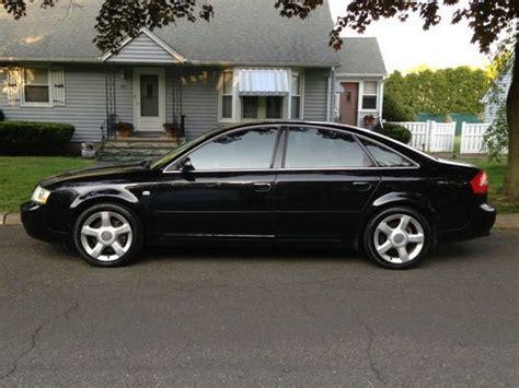 how cars run 2003 audi a6 user handbook sell used 2003 audi a6 2 7t automatic black ext ebony vanilla int sport seats in riverdale