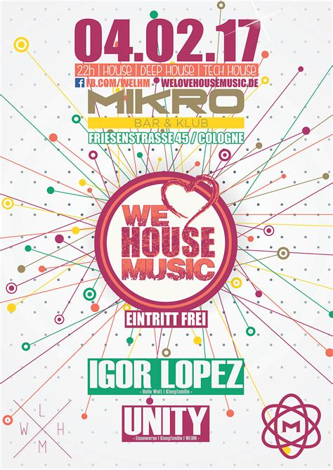 we love house music we love house music cologne eintritt frei in k 246 ln am 04 02 2017 mikro