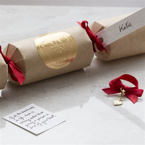 luxury crackers australia personalised luxury cracker with charm by
