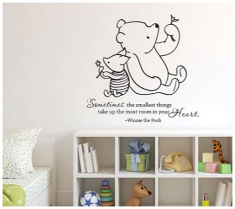 Baby Vinyl Wall Quotes 20 disney wall vinyl quotes for the nursery or